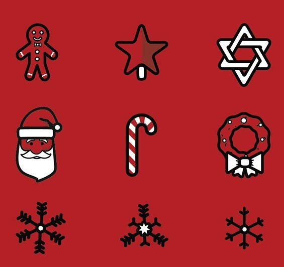 21 Free Holiday Icons