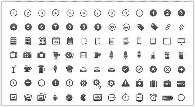 350 pixel perfect Icons