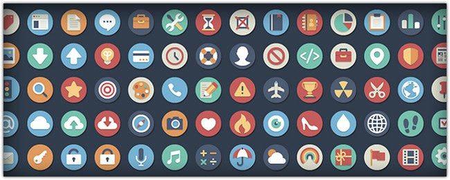 384 Flat Icons