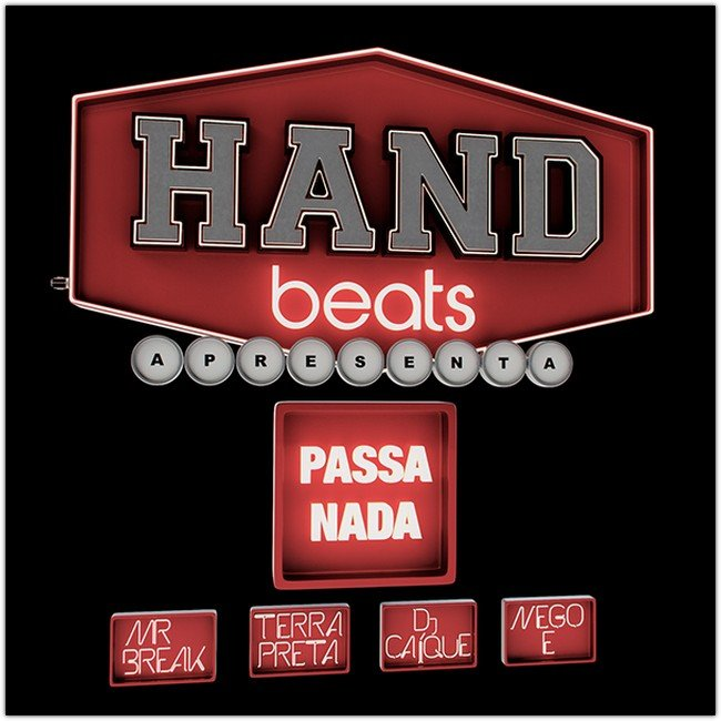 3D Typography Hand Beats