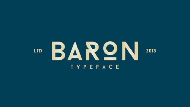 Baron Neue typeface-4521
