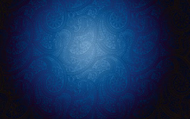 Blue floral wall pattern Abstract wallpapers