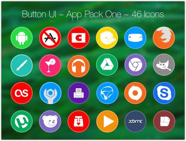 Button UI App Pack One