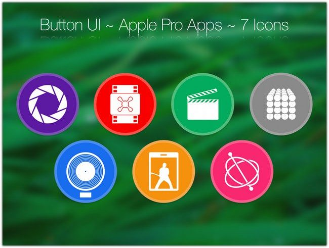 Button UI ~ Apple Pro Apps