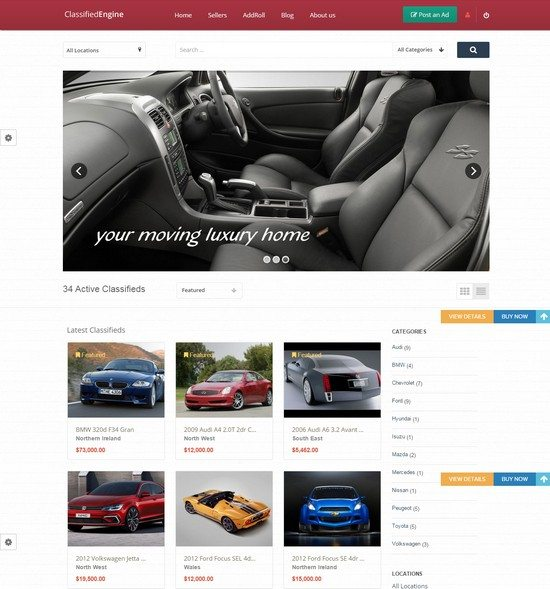 ClassifiedEngine WP Theme