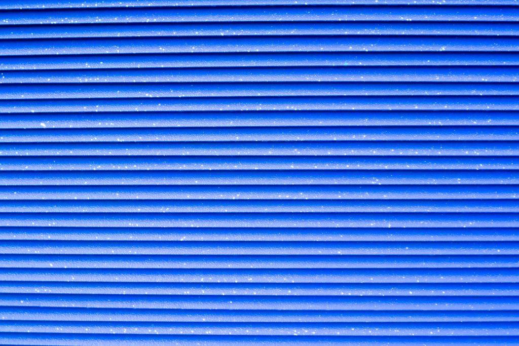 Corrugated DesignBlue Background