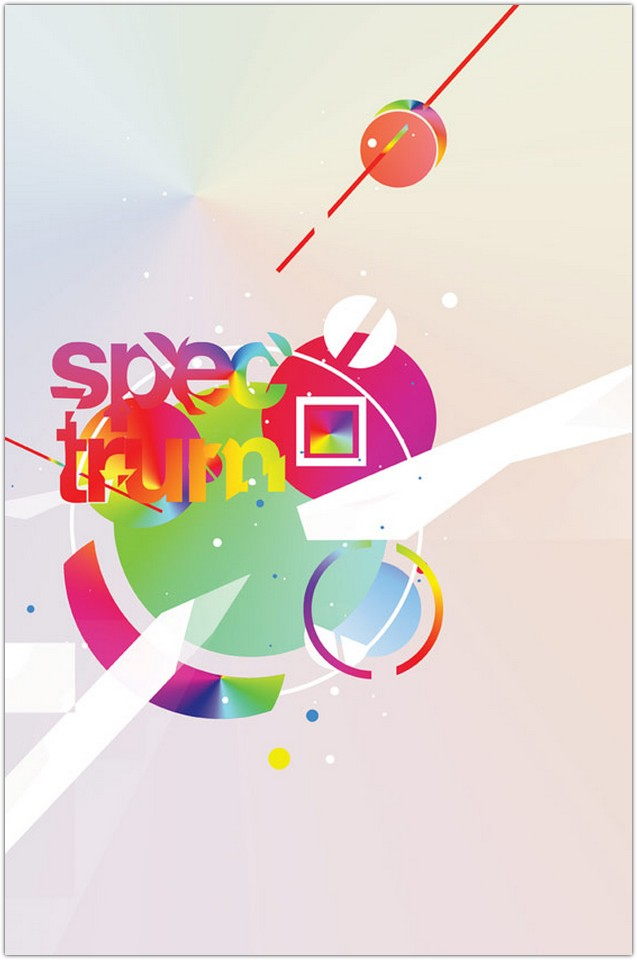 Creating a Spectrum Poster Design in Photoshop