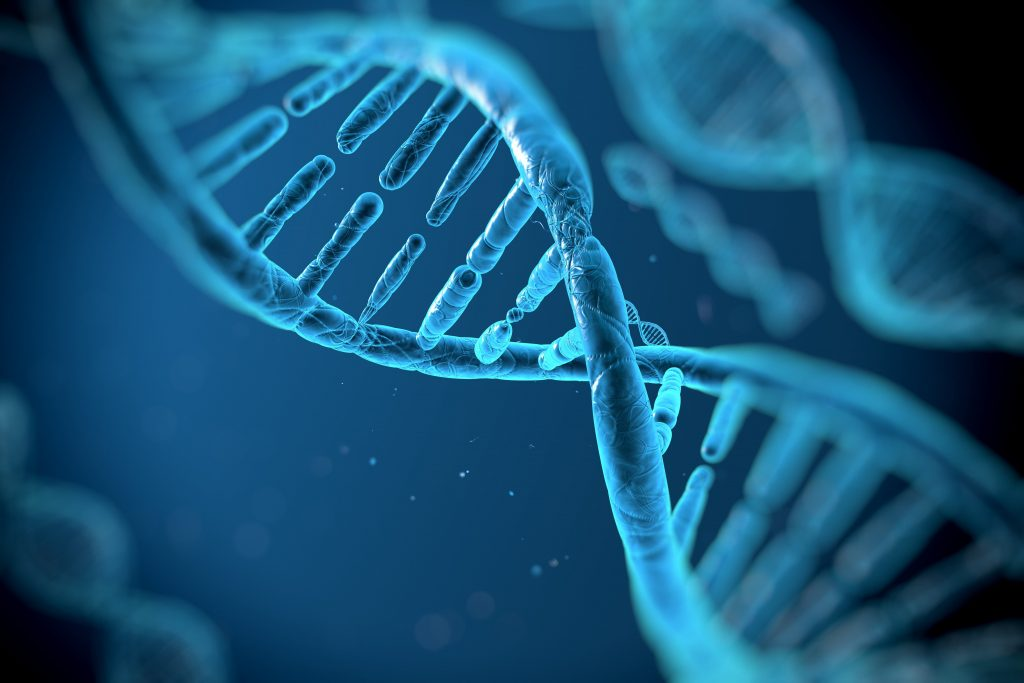 DNA 3d Blue Wallpapers