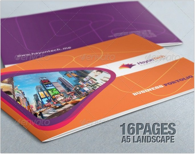 Elegant Business Portfolio Brochure