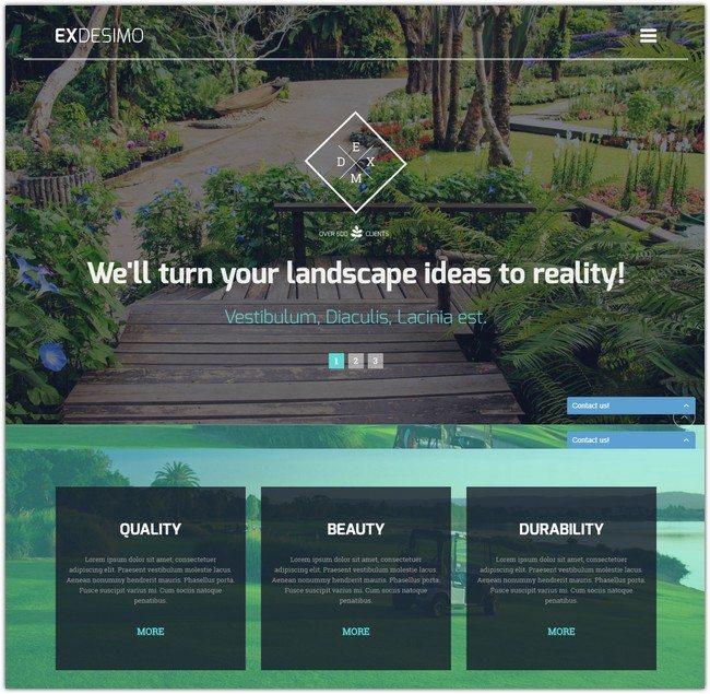 Exdesimo WordPress Theme