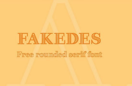 FAKEDES – Free Font