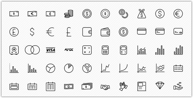 FREE 50 BUSINESS ICONS