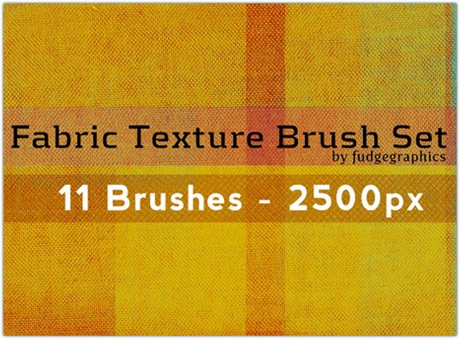 Fabric Texture Brush Set