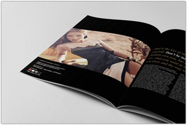 Fashion Catalogue Brochure Template