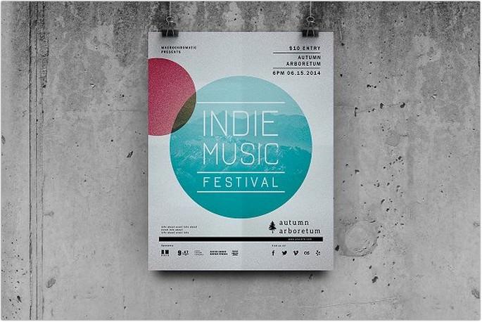 Festival Concert - Flyer Template