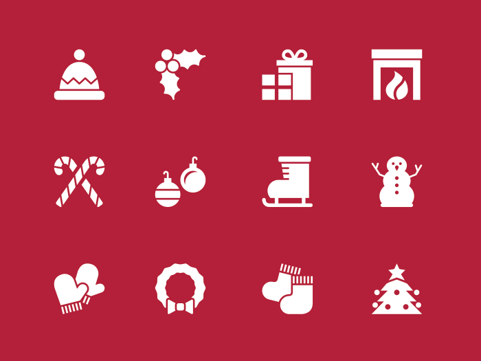 Free Holiday Icons