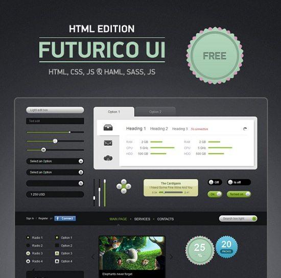 Futurico UI HTML