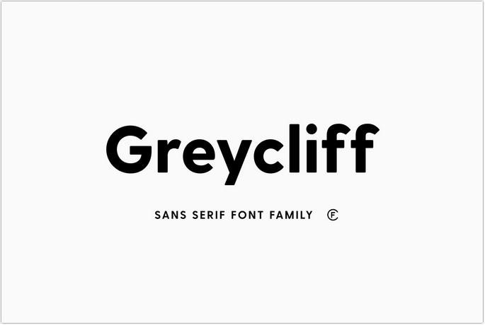 Greycliff CF Geometric Sans Font