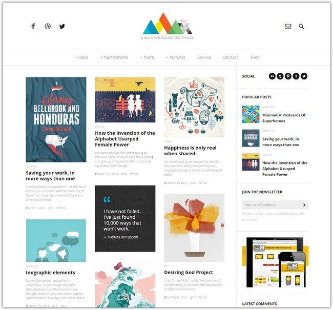HEAP - A Snappy Responsive WordPress Blog Theme