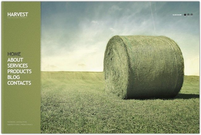 Harvest Agriculture Responsive WordPress Theme