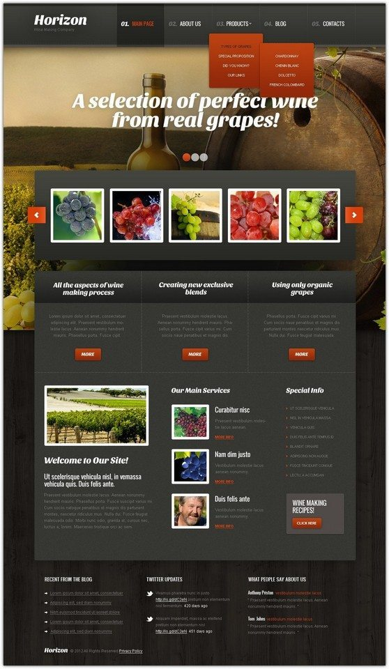 Horizon WordPress Theme