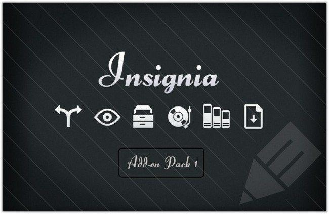 Insignia Icons - Mini Pack 1