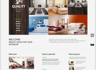 Furniture Joomla Template