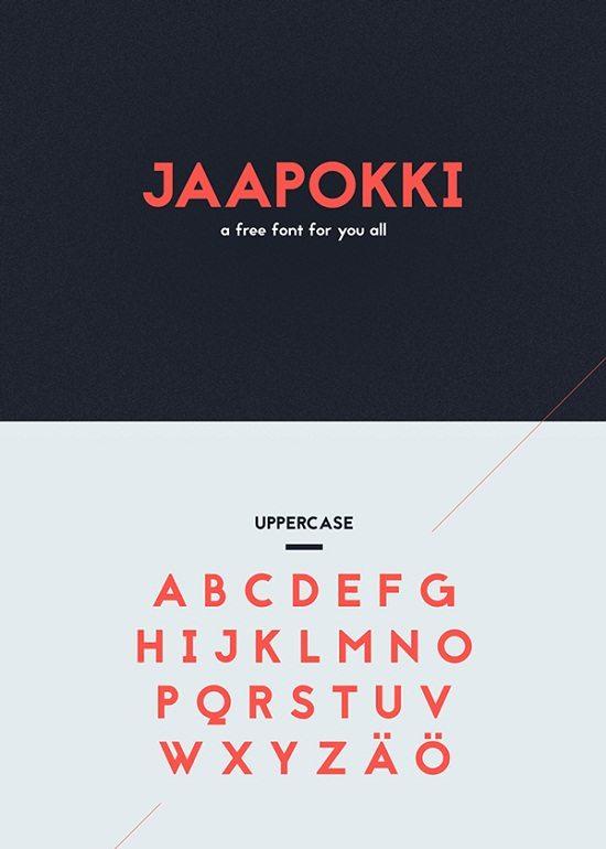 Jaapokki – Free Font