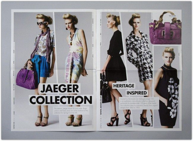 Jaeger SS09 Season Launch Brochure
