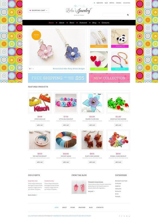 Jewelry Responsive WooCommerce Themes