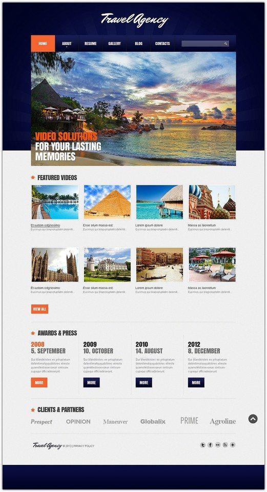Joomla Travel Agency Responsive Template