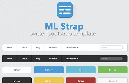ML Strap Twitter Bootstrap Theme