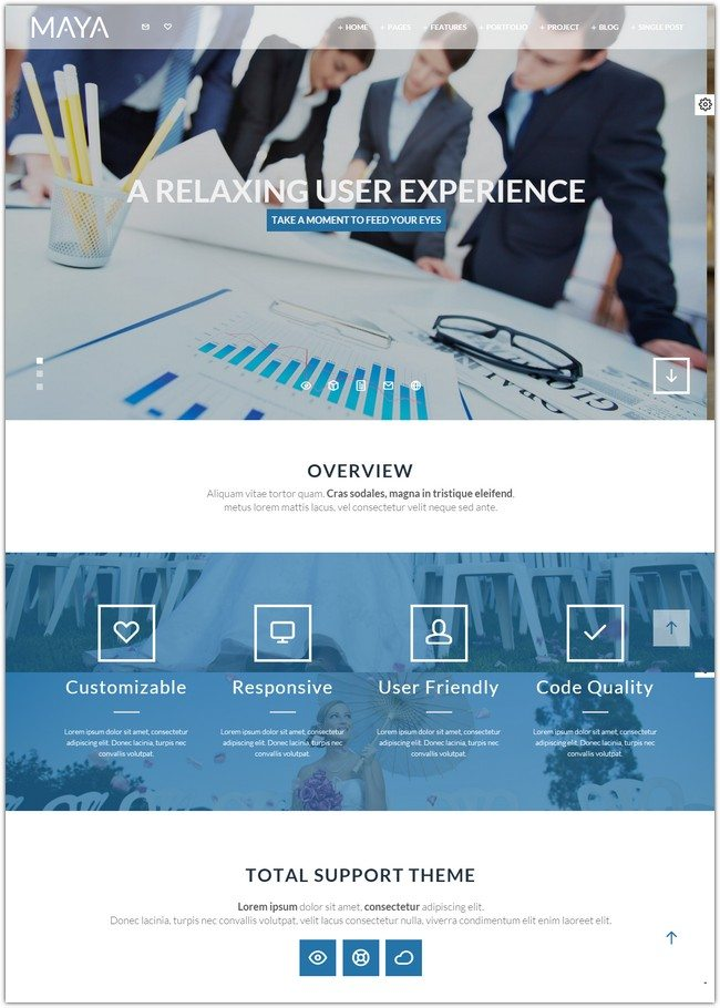 Maya - Smart & Powerful Joomla Theme
