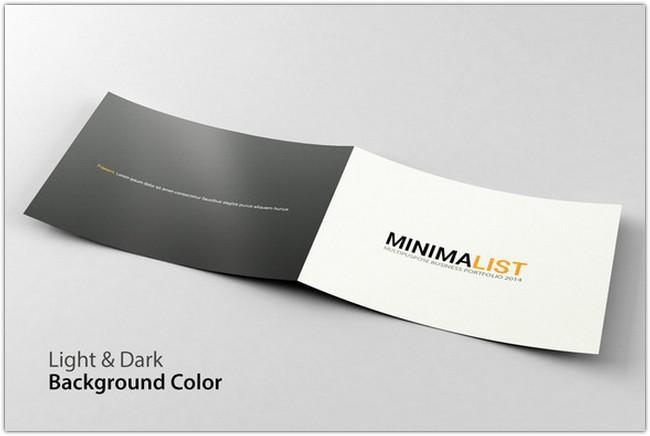 Minimalist Portfolio Brochure