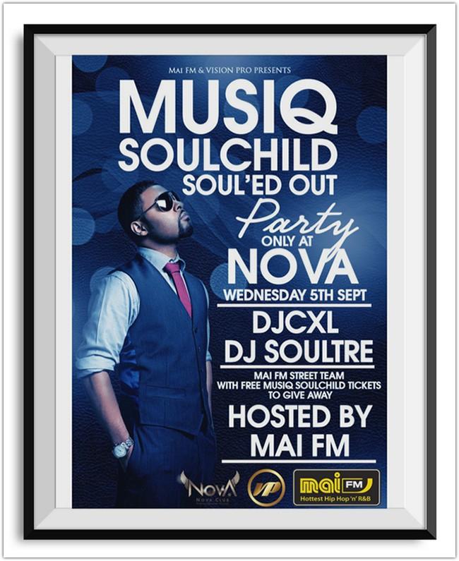 Musiq Soulchild Flyer