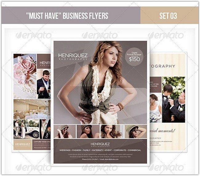 Must Have Business Flyers - Set 03 Photography
