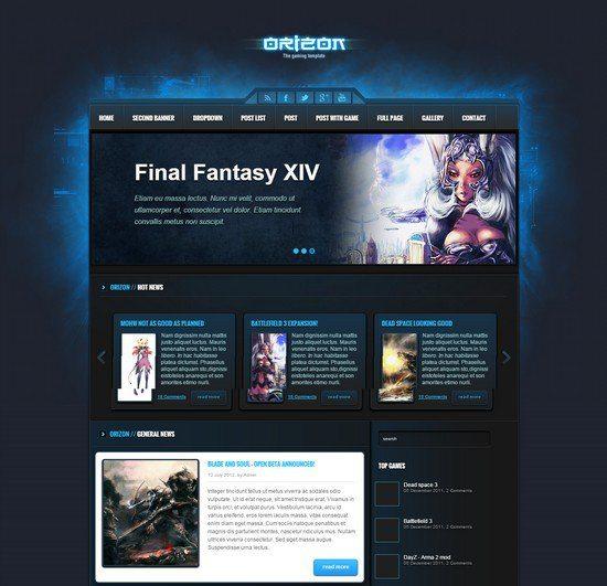 Orizon-The-Gaming-Template-HTML-version