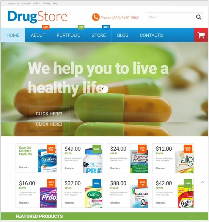 Pharmacy WooCommerce Theme