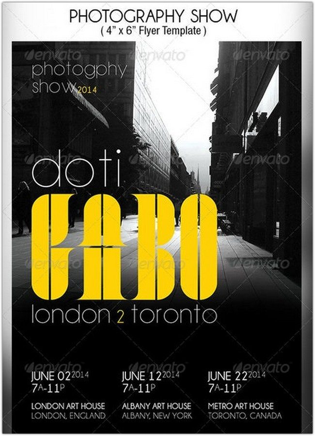 Photography Show Flyer Template