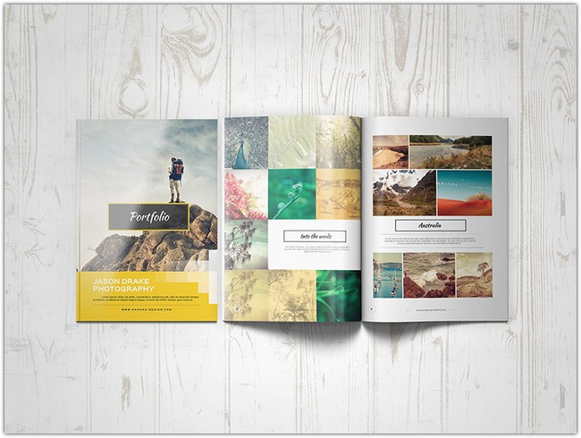Portfolio Modern Brochure Catalog