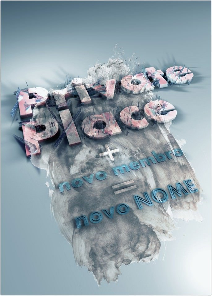 Private Place Poster