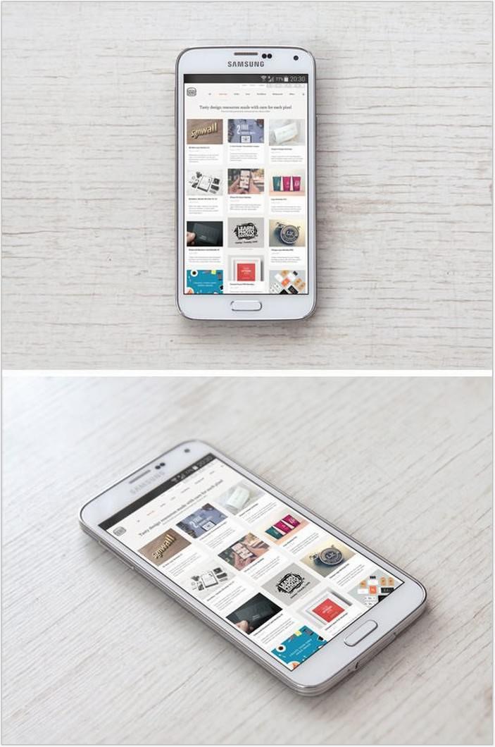 Samsung-Galaxy-S5-PSD-MockUp-free