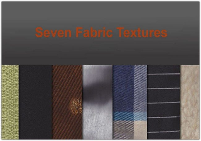 Seven Fabric Textures