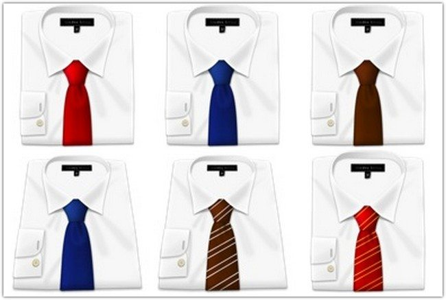Shirt N Tie Icons by Gordon Irving
