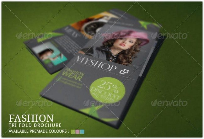 Spring Fashion Brochure