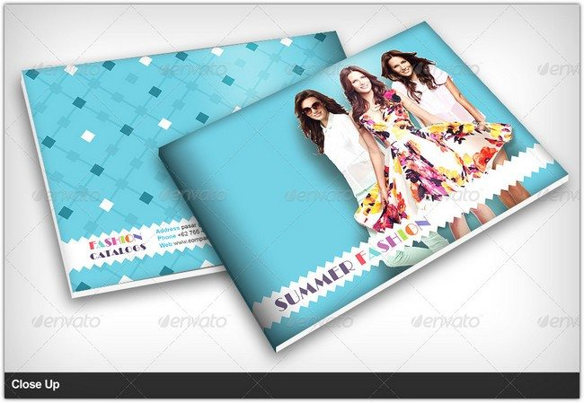 Summer Fashion Catalog Brochure