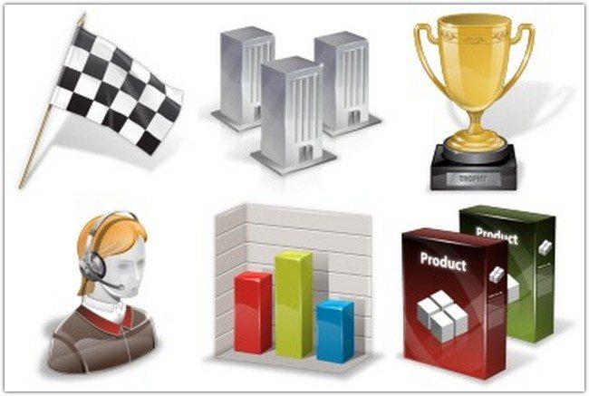 Super Vista Business Icons