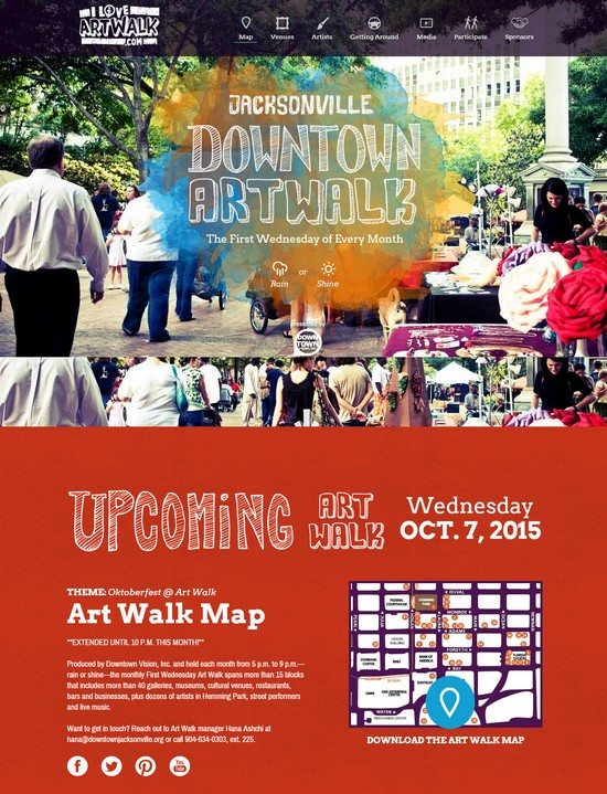 The Jacksonville Downtown Art Walk