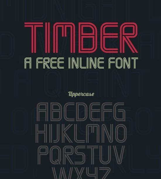 Timber – Free Font