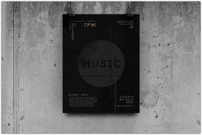 Trance Concert - Flyer Template